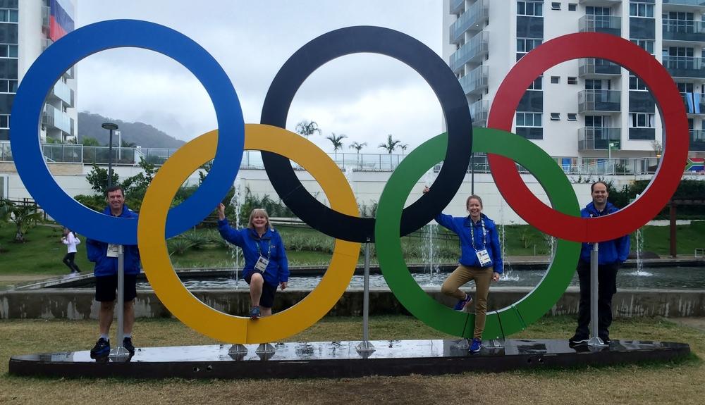 RIO 2016 Rings