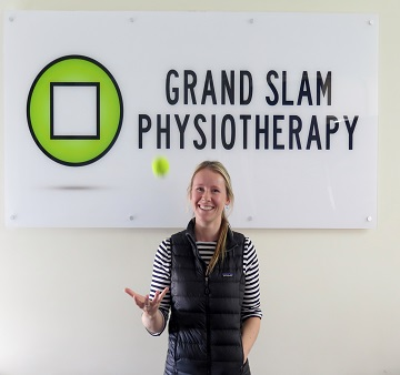 Grand Slam Physio, Holly, Company Logo, Tennis ball