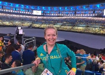 Belinda at the Olympics Opening Ceremony