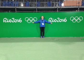 Belinda at the 2016 Rio Olympics