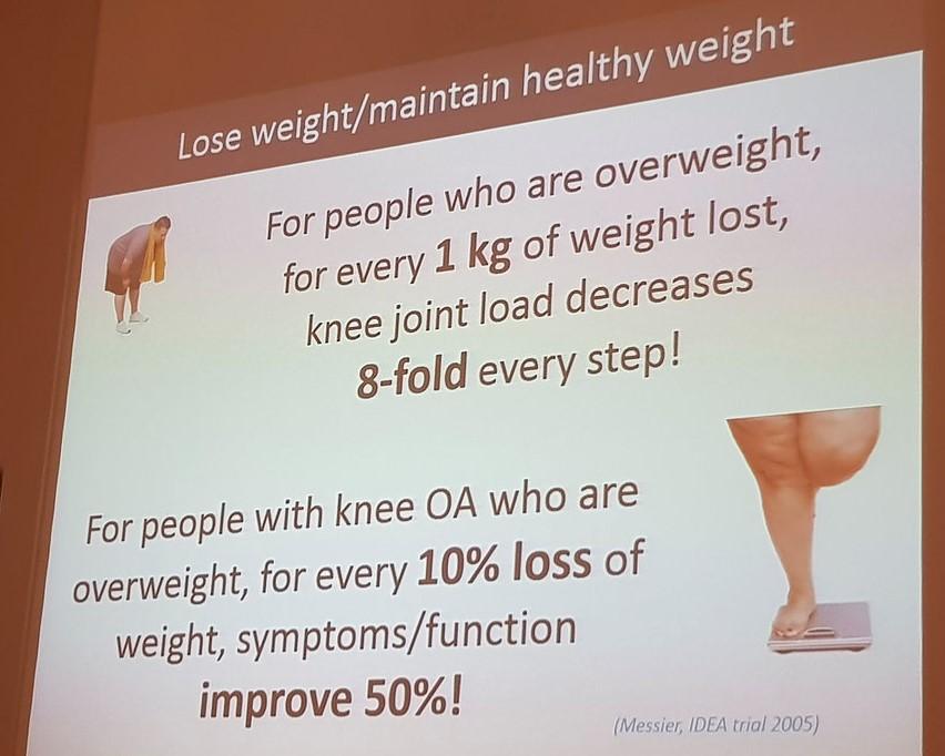 Knee Benefits