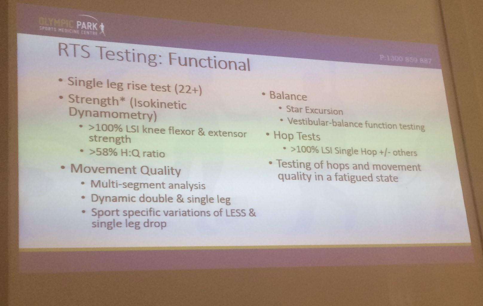 RTS Testing