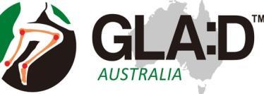 Glad Australia, Australia, Fitness, White and Grey background