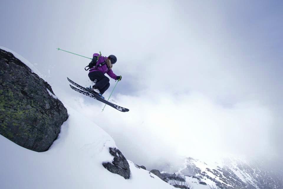 skiing, snow. mountain, winter sports, women skiing,